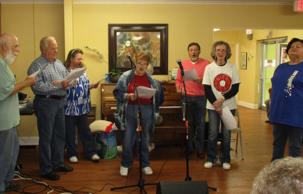 Our Monthly Singing With Zions Cause Baptist Church Oakview